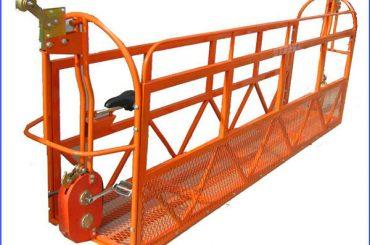 1000 kg 7,5 mx 3 Oddelki Aluminijasta legirana delovna platforma ZLP1000