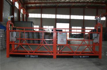 zlp1000 8 - 10 m / min varno obešene platforme Woking za gradnjo in vzdrževanje stavb