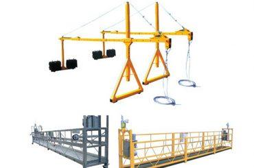 vroče prodajne uspešnosti suspendirane jeklene ogabljene platforme za dostop zlp630, zlp800, zlp1000