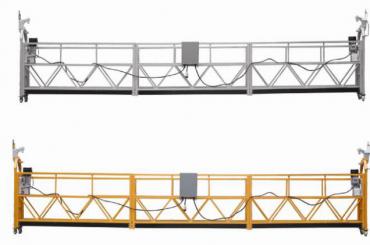 Vroča prodaja Aluminijasta aluminijasta platforma / obešena gondola / suspendirana zibelka / suspendirana nihajna stopnja z obliko E