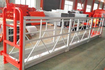 2 deli 500kg Viseče delovne platforme s 3 vrstami števec števcev