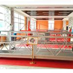 zlp630 aluminijasti viseči ploščadi (ce iso gost) / oprema za čiščenje oken z visokim poravnavanjem / začasna gondola / zibelka / nihajna stopnja vroča
