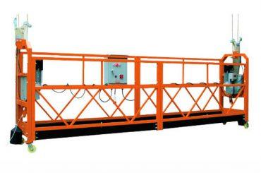 2.5M x 3 Odseki 1000kg Viseči dostopni plosci Hitrost dvigovanja 8-10 m / min
