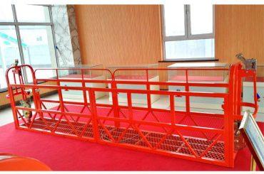 Jekleni viseči dostopni platformi 7,5m 1,8kw 800kg Vzdrževanje stavbe
