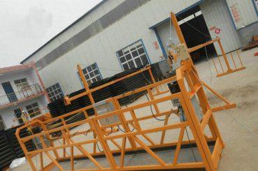 Zanesljiva ZLP630 Slikarska jeklena viseča delovna platforma za gradbeništvo (2)