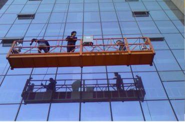 močna konstrukcija vrv viseče platforme z 30kn varnostno zaklepanje zlp1000 2,2kw 2,5m * 3