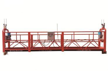 jeklena / vroče pocinkana začasno suspendirana platforma, zlp500 vzdrževalna zloženka