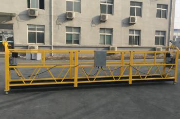 obarvana aluminijasta obešana žična vrvna platforma 500kg / 630kg / 800kg / 1000kg
