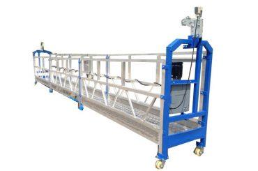 varnostna vrv / kabelsko jekleno visečo delovno platformo zlp800 z dvigalom ltd8.0