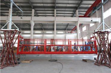 10 metrov aluminijaste legure viseče delovne ploščadi z dvigalom ltd8.0