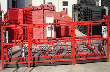 50/60 hz tri / enofazne vrvne obešene platforme dolžine 7,5 metrov