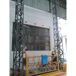 10m pogonska aluminijasta vrv viseča platforma zlp1000 enofazna 2 * 2,2kw