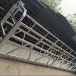 zlp630 / 800 ll aluminijasta zlitina, jeklena konstrukcija viseča delovna ploščad dvigalo na gradbenih oknih