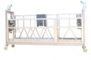 jeklena barva / vroče pocinkana / aluminija zlp630 viseča delovna ploščad za fasadne barve