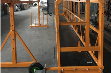 čiščenje oken viseča delovna platforma varnost zlp 630 s dvigalom ltd6.3