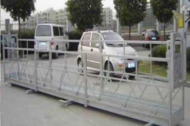 2.5mx 3 delne delovne platforme 800kg aluminij z varnostno ključavnico 30kn